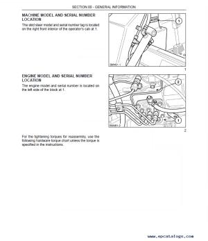 New Holland LS140 LS150 Skid Steer Loader PDF Manual