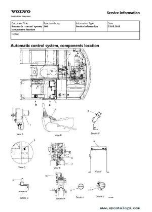 Volvo EC140, EC140LC Excavator Service Repair Manual PDF