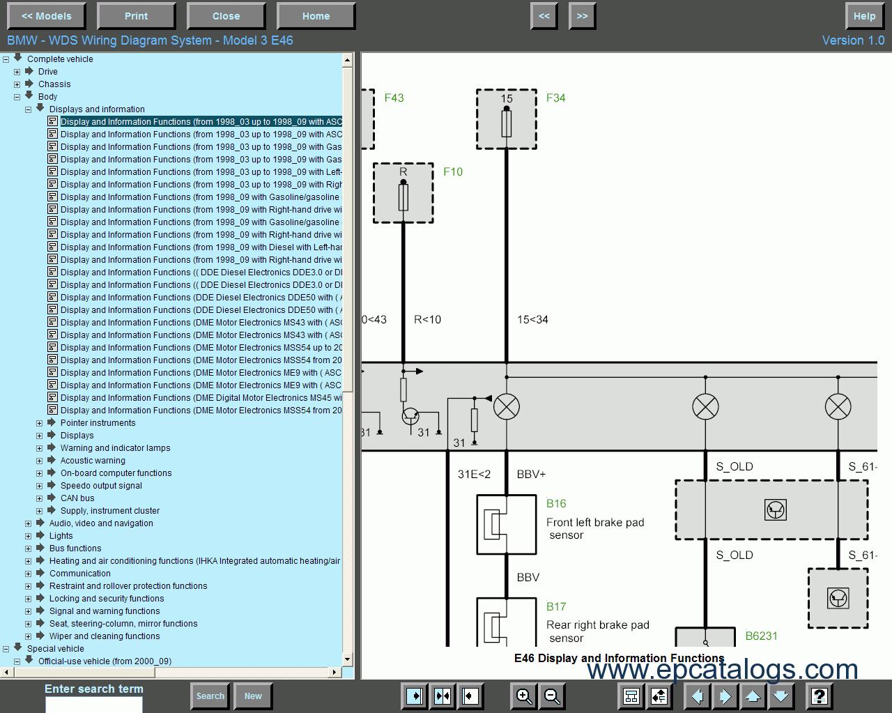 Wds Bmw Wiring Diagram System Model 5 E60 E61: Bmw Wiring Diagrams E61 At Imakadima.org