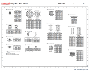 Kenworth T2000 Electrical Wiring Diagram Manual PDF