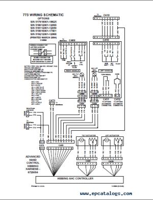 Bobcat 773, 773HF, 773 Turbo Loaders G Series Service