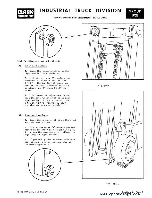 clark c500 355 pma 273 10th planned maintenance adjustment procedures pdf clark forklift np300d wiring diagram diagram wiring diagrams for  at n-0.co