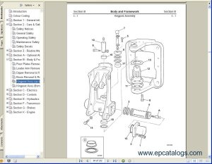 JCB Excavator Service Manuals S2 Download