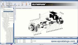 Olympian spare parts catalog