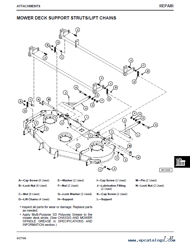 john deere mid mount ztrak m653 m655 m665 tm1778 technical manual pdf?resize\=653%2C843\&ssl\=1 john deere model 997 zero turn mower parts on john deere 997 ztrak john deere model a wiring diagram at mifinder.co