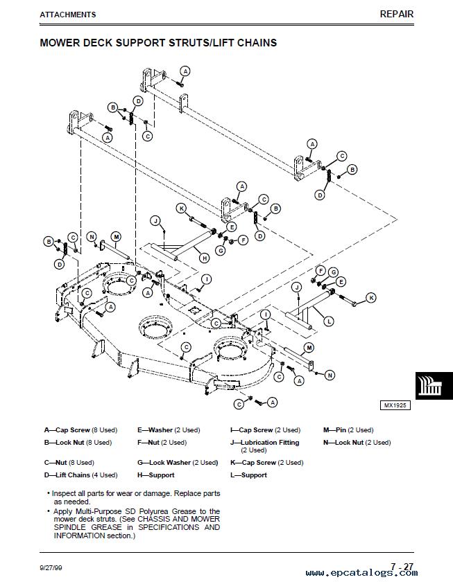john deere mid mount ztrak m653 m655 m665 tm1778 technical manual pdf?resize\=653%2C843\&ssl\=1 john deere model 997 zero turn mower parts on john deere 997 ztrak john deere model a wiring diagram at bayanpartner.co
