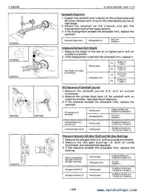 Kubota B1700 B2100 B2400 Tractor Workshop Manual PDF