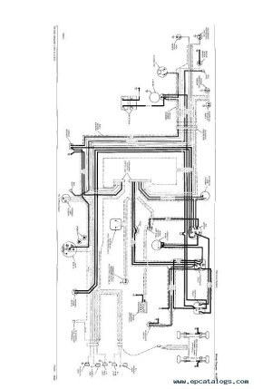 John Deere 2020 Alternator Wiring Diagram ~ Wiring Diagram