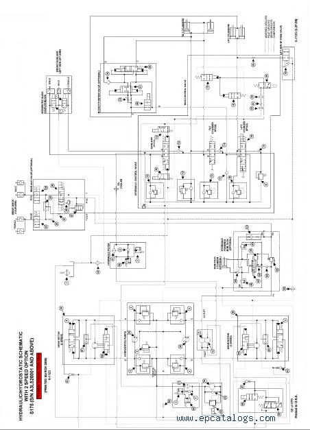 bobcat 610 wiring diagram alternator  bobcat 753