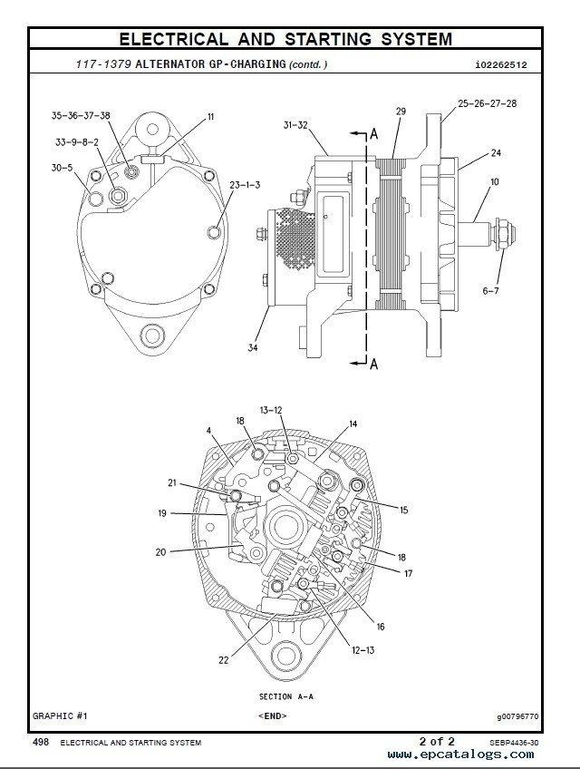 Cat C7 Engine Parts Diagram