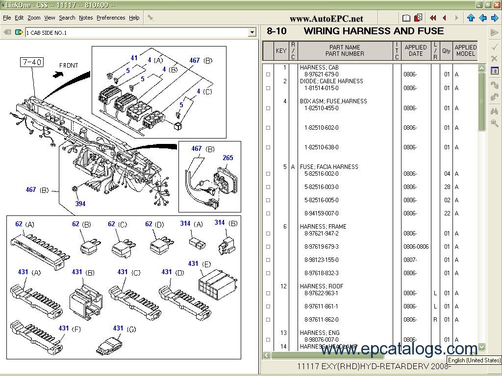Schematic For Wiring Harness 89 Isuzu 4ze1 Pickupfor Engine Schematics Diagrams Instruction Css Net Engines Parts Catalogresize8402c630