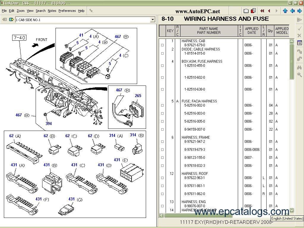 Schematic For Wiring Harness 89 Isuzu 4ze1 Pickupfor Engine Schematics Diagrams Instruction Css Net Engines Parts Catalogresize8402c630