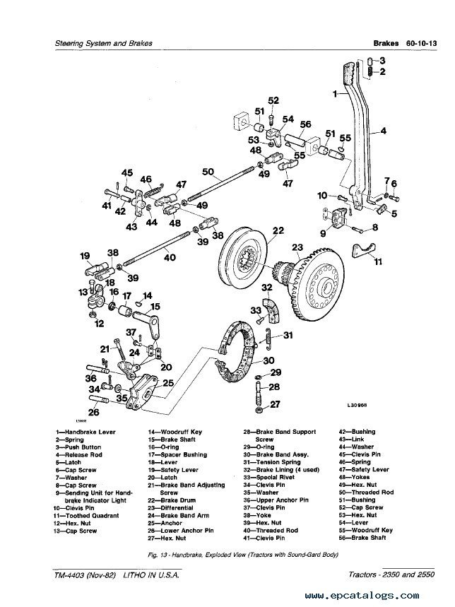 Diagram Ford 600 Tractor Parts Catalog File Ve95369