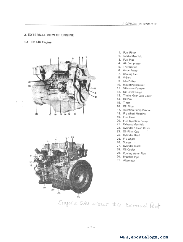 Daewoo Doosan Storm Engine D T D T Repair Manual