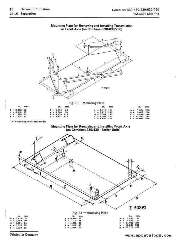 John Deere 445 Tractor Accessories