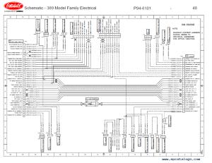 Peterbilt Truck 389 Model Family Schematic Manual PDF Download