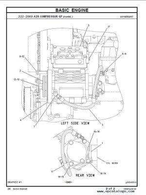 caterpillar C7 Industrial Engine Parts Manual PDF