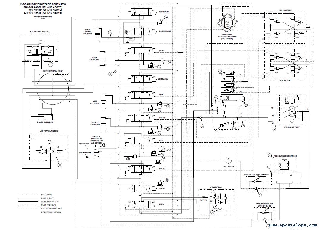 Forklift Hydraulic Schematic