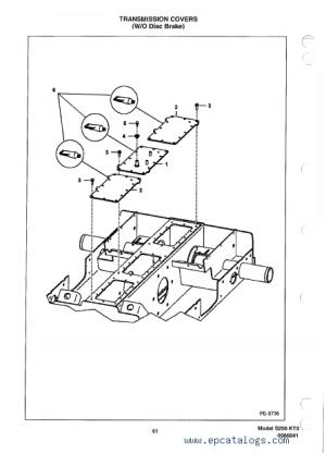 Bobcat S250 Skid Steer Loader Parts Manual PDF