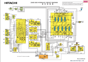 Hitachi Zaxis Hydraulic Excavators Service Manual PDF Download