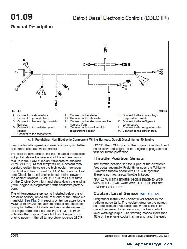 Freightliner Business Class workshop repair manual freightliner century class wiring diagram 28 images Craigslist Century Coronado at crackthecode.co