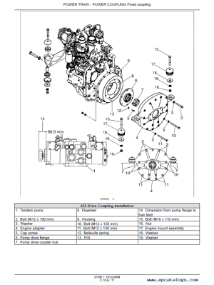Case 435 & 445 Skid Steer Tier II Engine Repair Manual PDF