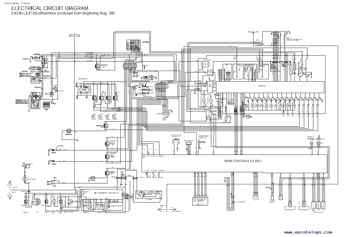 Hitachi Schematic Diagram