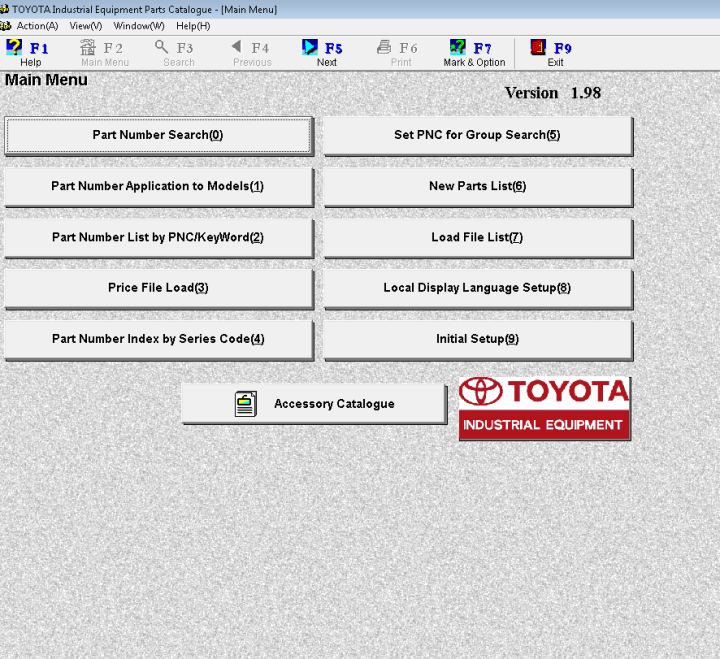 Toyota Spare Parts Catalogue Software Newmotorku