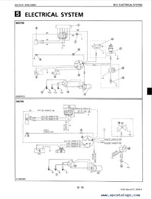 Kubota WG750BE, DFDG750E Engines Shop Manual PDF Download