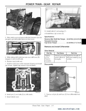 John Deere ProGator 2020 2030 Utility Vehicle TM1759 PDF
