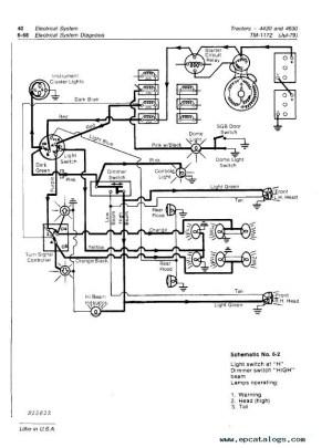 John Deere 4430 & 4630 Tractors TM1172 PDF Manual
