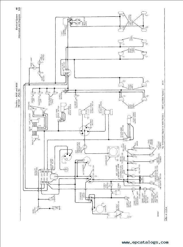 Sunpro Tachometer Wiring Diagram - efcaviation.com on ford 8630 parts, ford 8630 brake system, ford 8630 tractor,