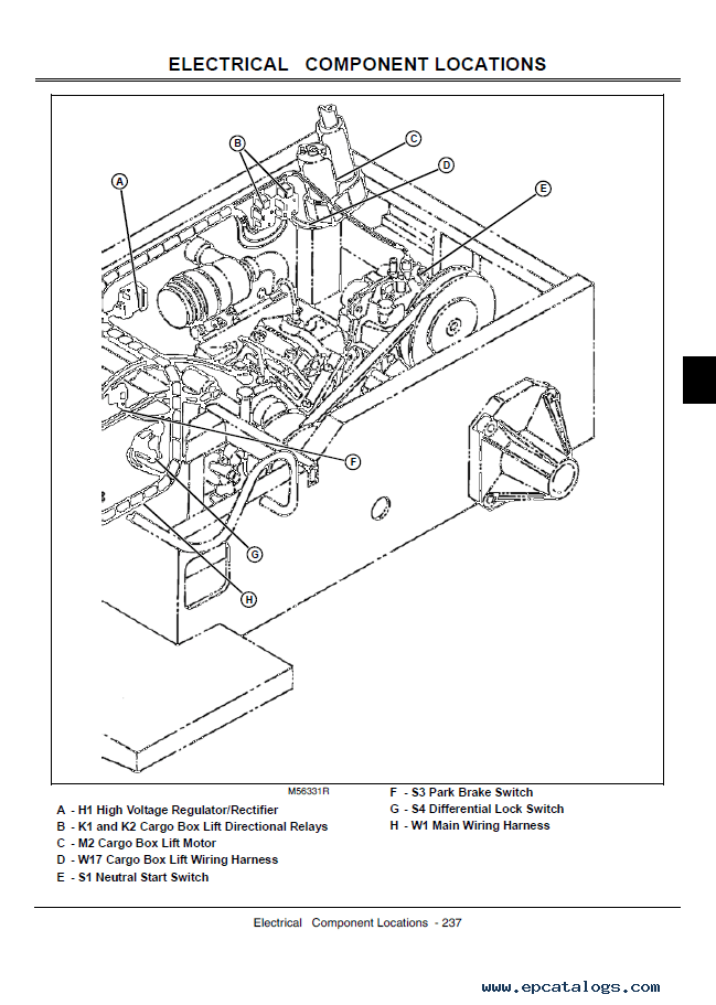 john deere gator utility vehicles 4x2 and 4x6 technical manual tm 1518?resize\=649%2C911\&ssl\=1 carrier 569bb wiring diagram carrier wiring diagrams collection John Deere Gator Engine Diagram at reclaimingppi.co