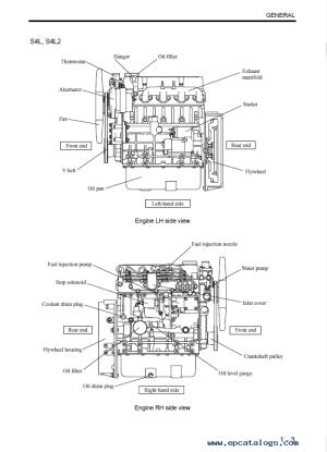 Download Mitsubishi EngineS S3L(2) S4L(2) Service Manual