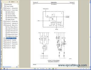 JCB Excavators Service Manuals S3A Download