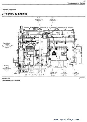 caterpillar 3406E C10 C12 C15 C16 C18 Engines PDF