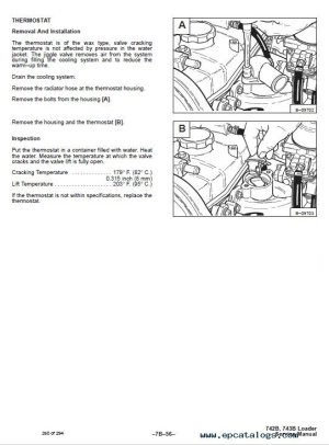 Bobcat 742B, 743B Skid Steer Loaders Service Manual PDF