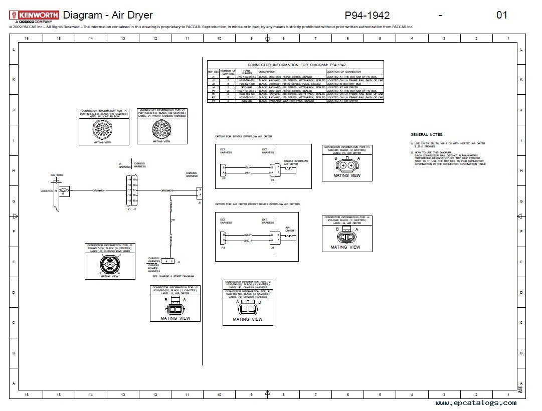 Kenworth T880 Electrical Schematic - Wiring Database
