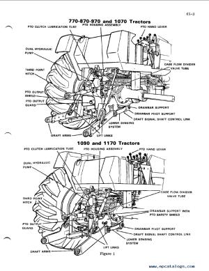 Case 9701070 Tractors Service Manual PDF