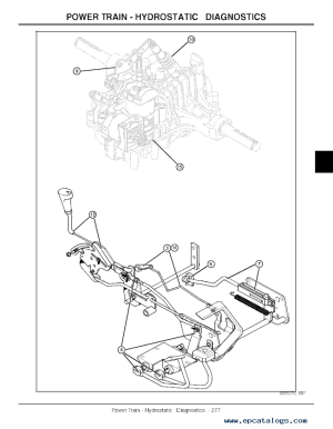 John Deere LX280 LX280AWS LX289 Garden Tractors TM2046