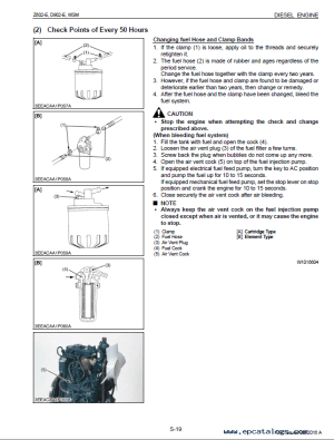 Kubota Z602E D902E Engines WSM PDF 9Y01102183