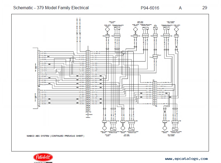 Truck Peterbilt 379 Wiring Diagram Diagrams
