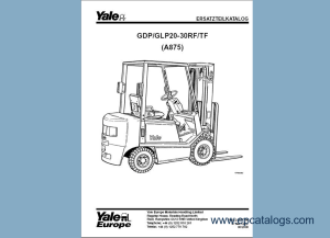 Download Yale Forklift Trucks Parts Manuals PDF