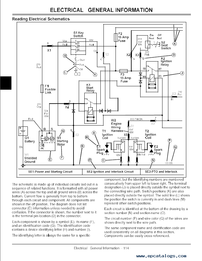 Wiring Diagram For A John Deere Gator : Hpx gator wiring diagram images