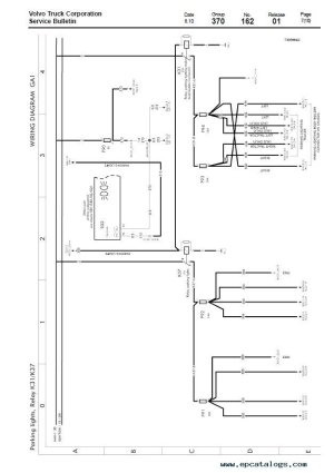 Volvo Trucks FL7, FL10, FL12 Wiring Diagram Manual PDF