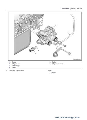 Download JCB Isuzu 4HK1 Interim Tier 4 Diesel Engine Manual PDF