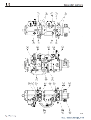 Bomag BC 672772 RB Landfill Compactor Instructions for