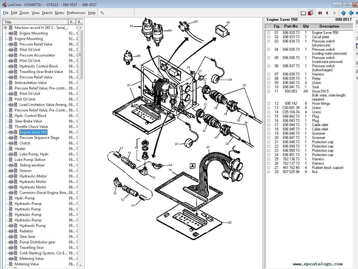 Komatsu Construction Europe Parts Catalog Download