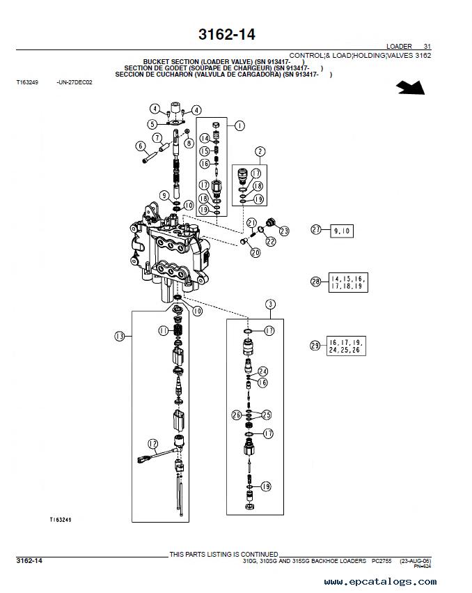 John Deere 310G 310SG 315SG Backhoe Loader Parts Manual PDF PC2755?resize=665%2C835&ssl=1 john deere 310g backhoe parts manual the best deer 2017 john deere 310g wiring diagram at aneh.co