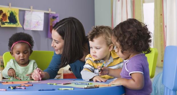 Cresce porcentagem de crianças de 4 e 5 anos que frequentam a escola